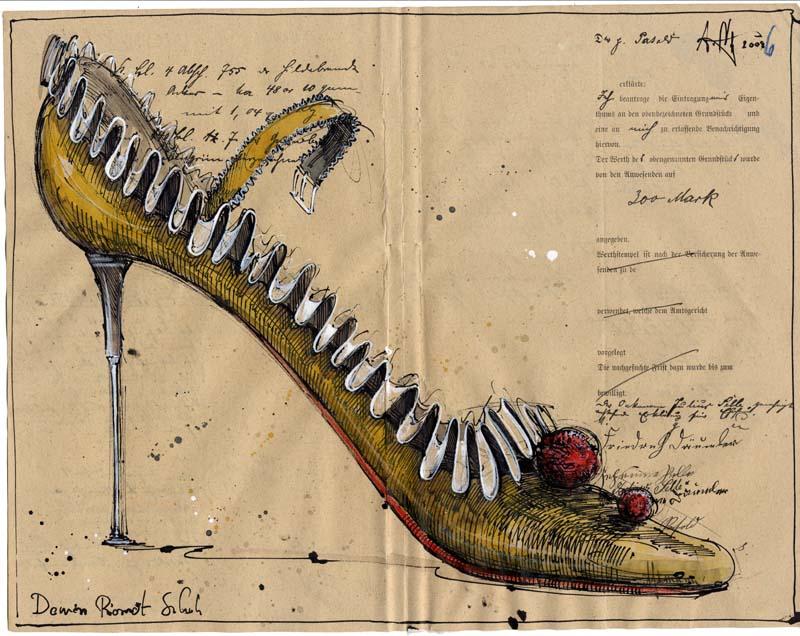 Damen Piorrot Schuh