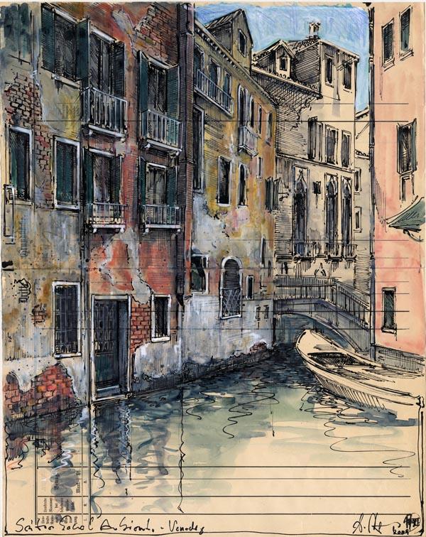 Seitenkanal Ambiente - Venedig