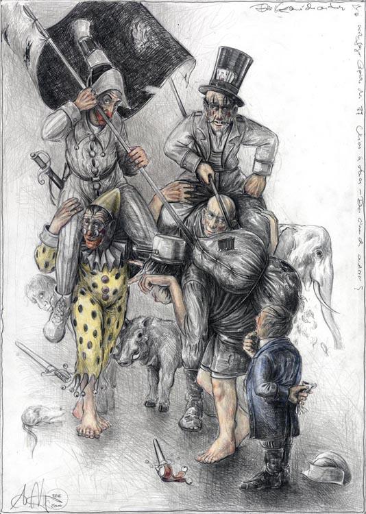 Die Komödianten - n. Goyas Capricho No. 77 / Unos á otros - Die einen den anderen