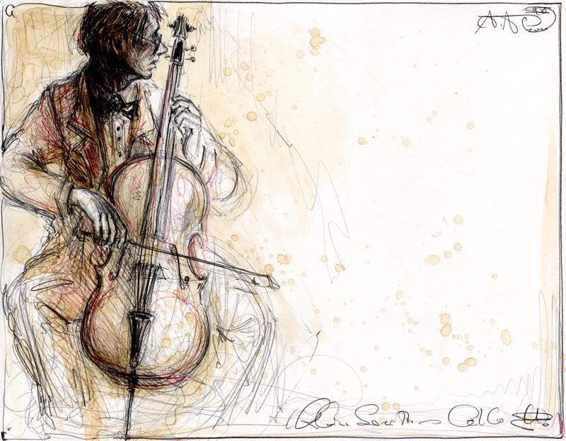 Kleine Sonette - Cello I.