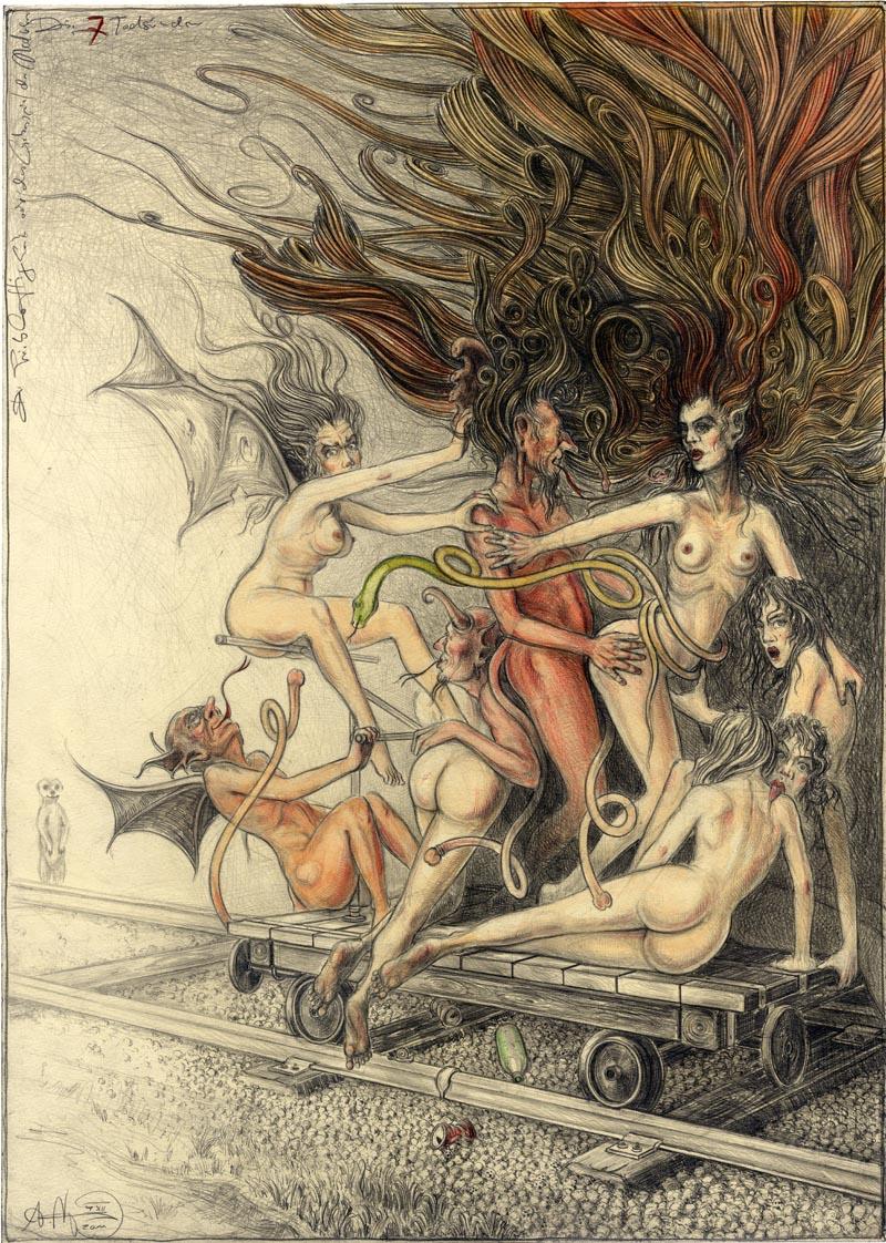 Luxuria - Triebhaftigkeit oder das Liebesspiel der Medusen