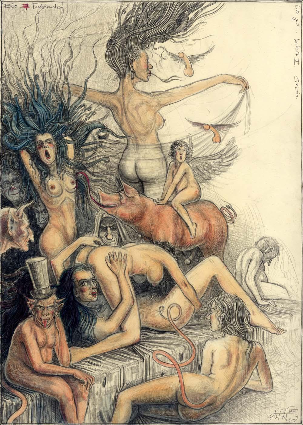 Wie geil - Wollust II. Luxuria