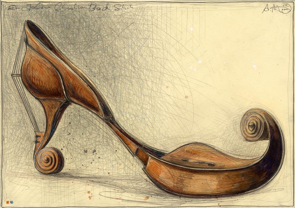 Ein Johann Sebastian Bach Schuh