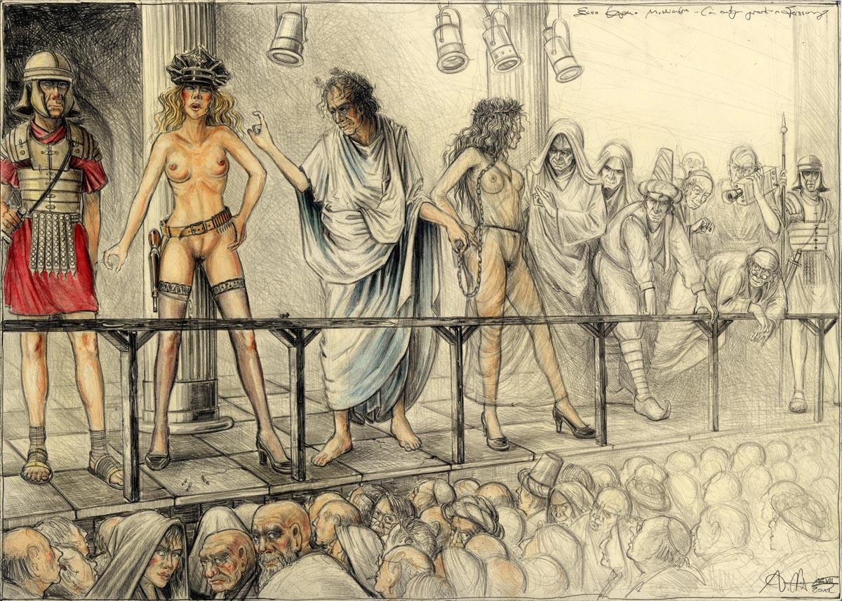 Ecco Homo Mediales (in entgegen gesetzter Fassung)