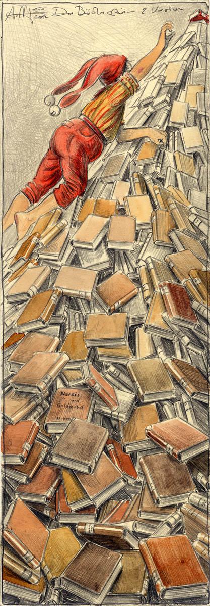 Der Bücherstürmer 2. Version
