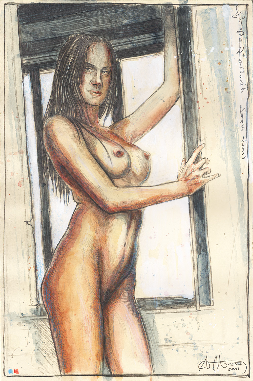Großer Fensterakt - Sexus 2013