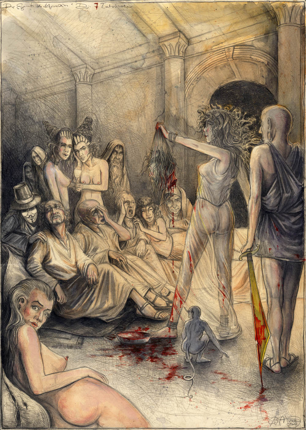 """Der """"Eigennutz der Herodias"""""""