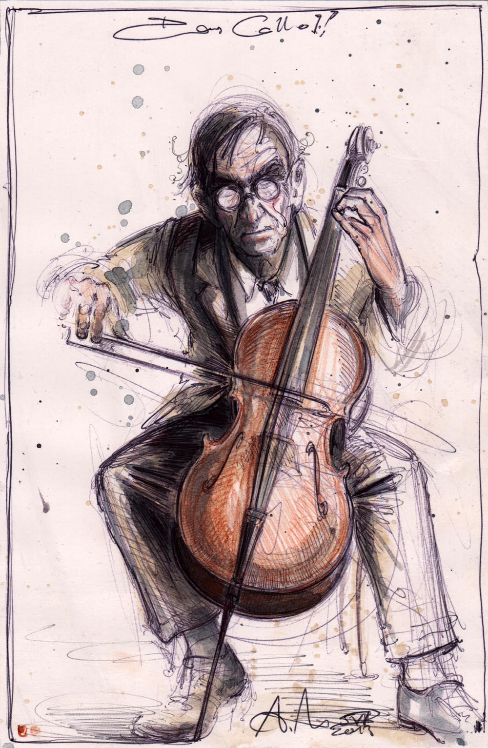 Das Cello I.