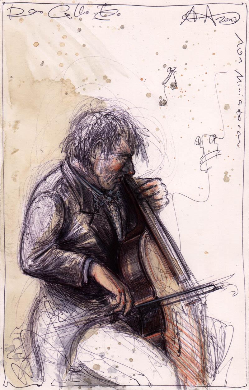 Das Cello III.