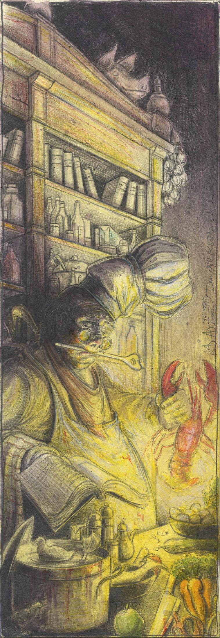 Das dicke Köchlein und sein Kochbuch