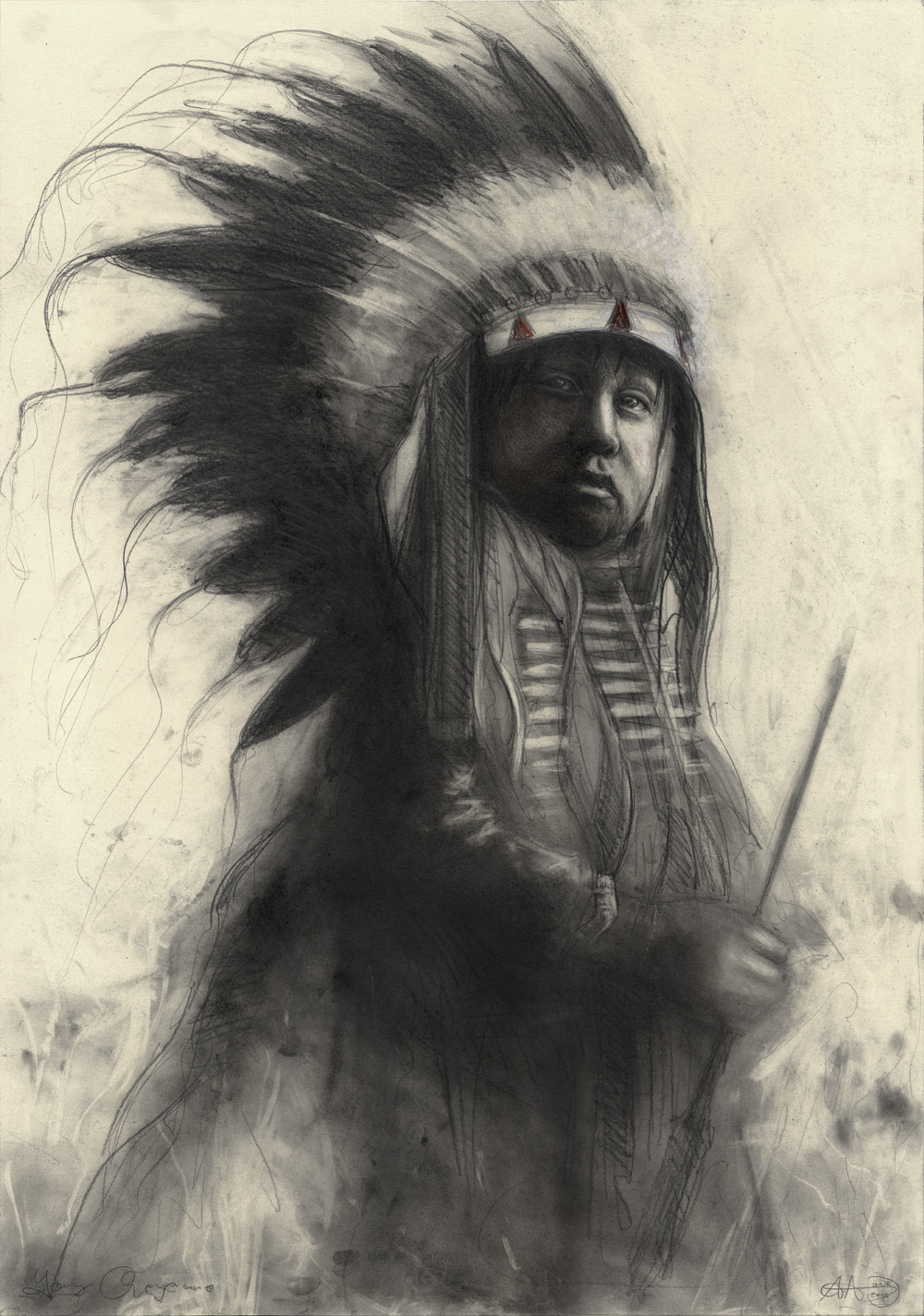 Young Boy - Cheyenne