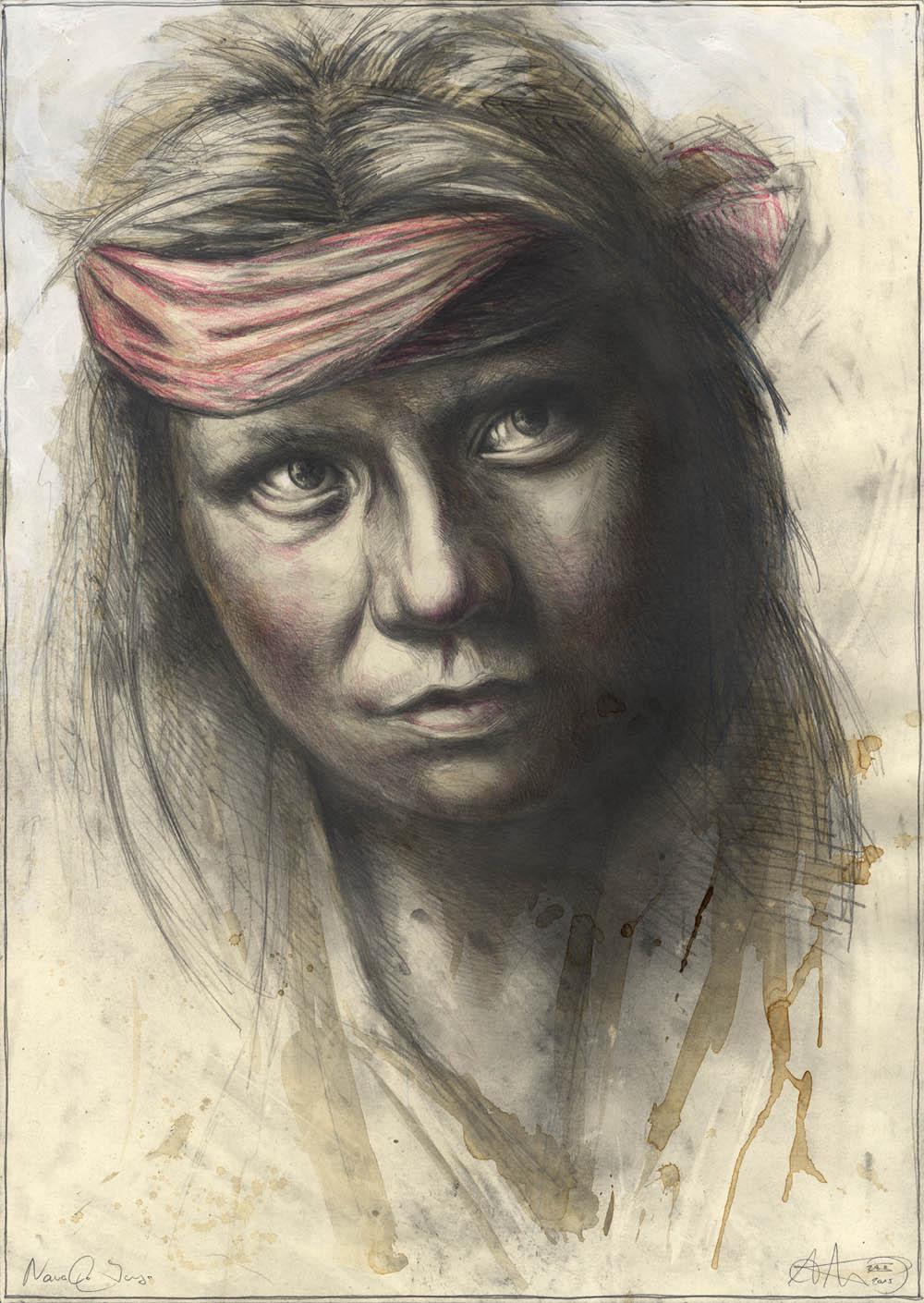 Junger Navaho