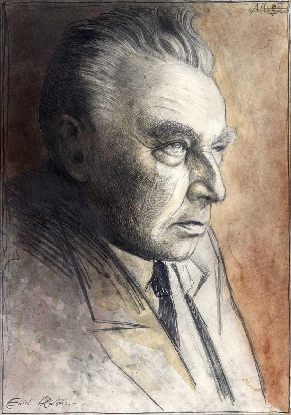 Резултат с изображение за Erich Kästner portrait