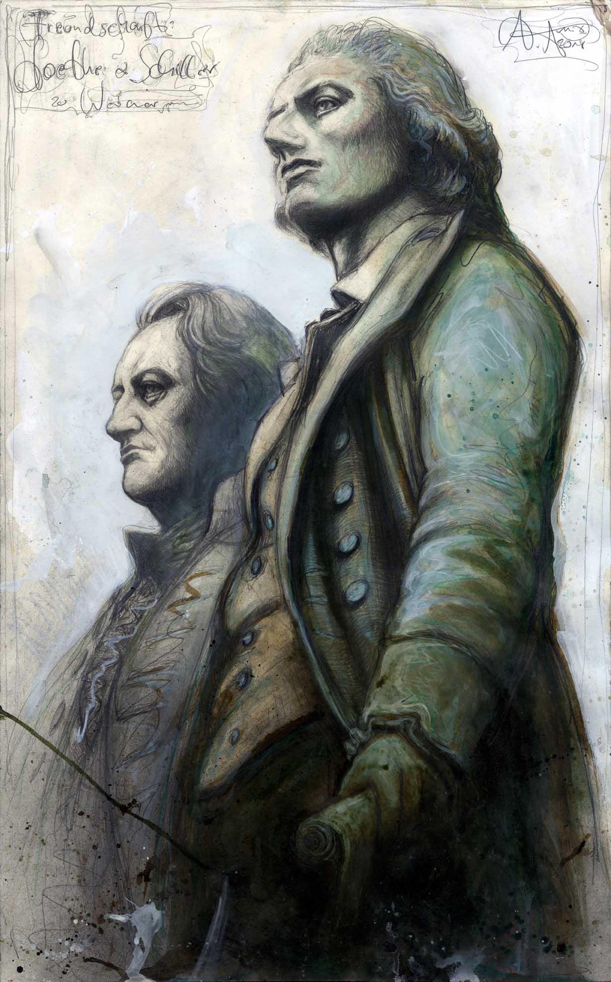 Freundschaft: Goethe & Schiller zu Weimar