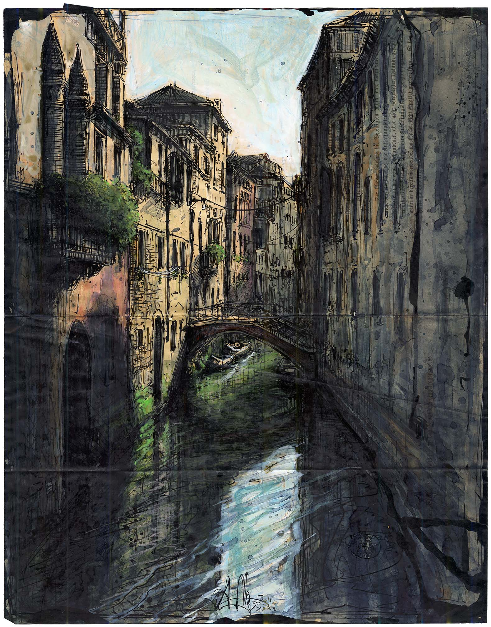 Venedig - Am keinen Kanal