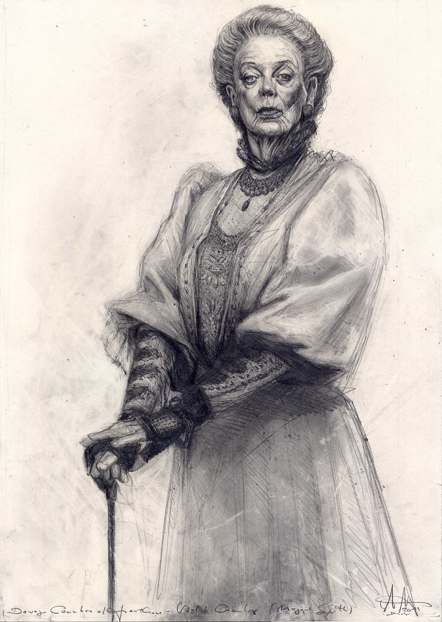 Dowager Countess of Grantham Violet Crawley (Maggie Smith)