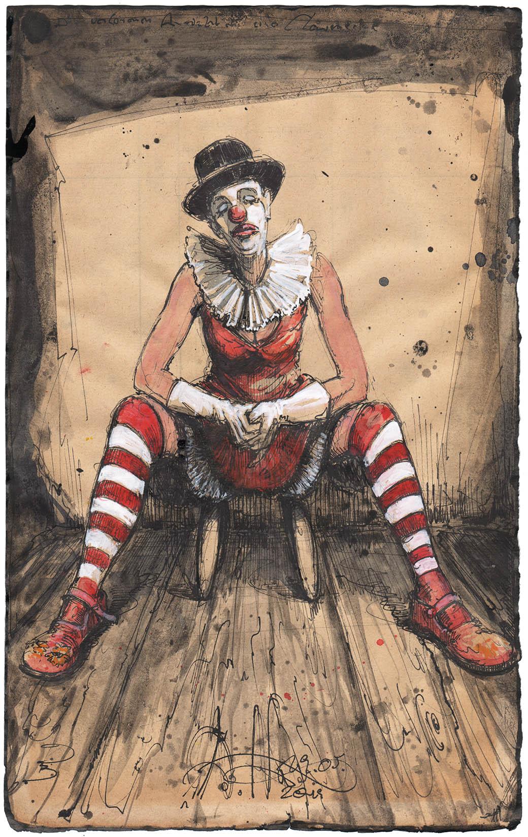 Die verlorenen Ansichten einer Clownerine