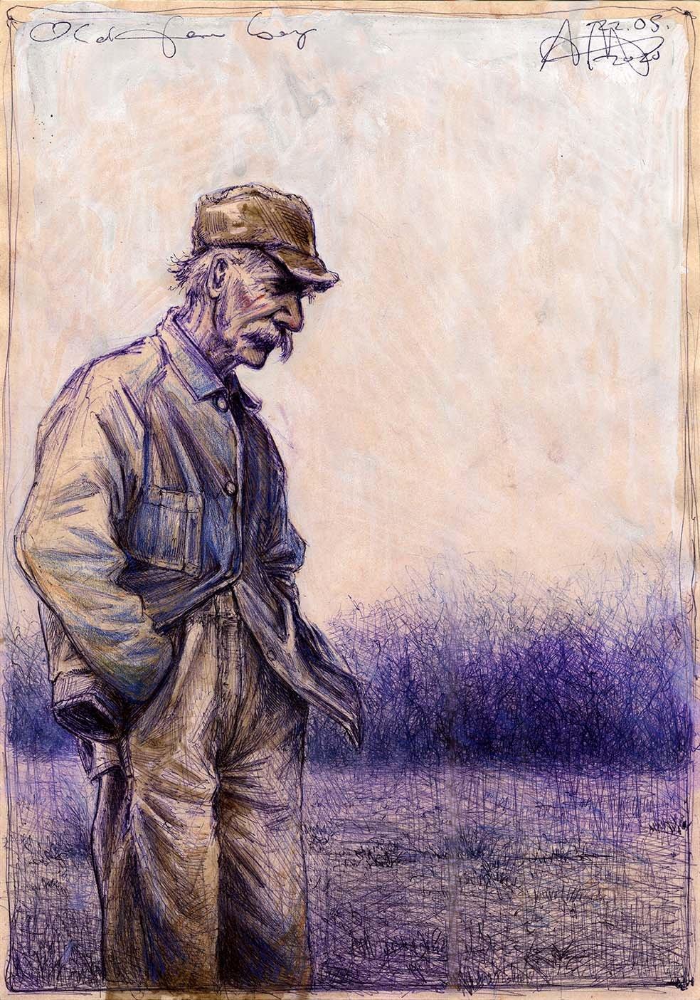 Old farm boy