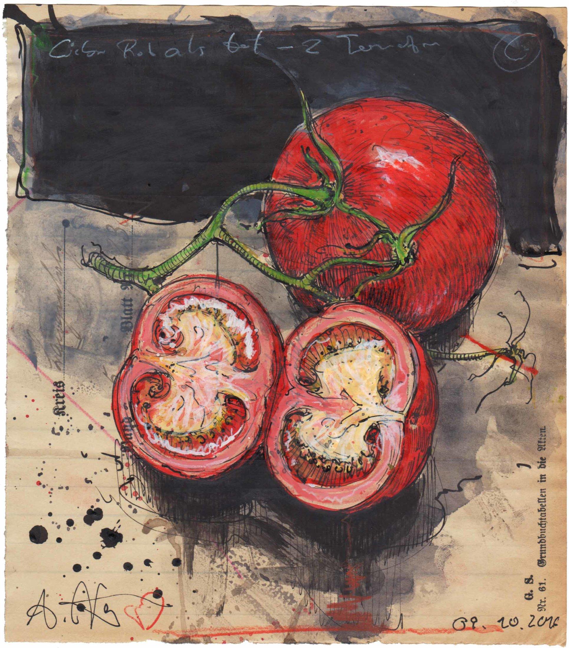 Lieber Rot als tot, zwei Tomaten
