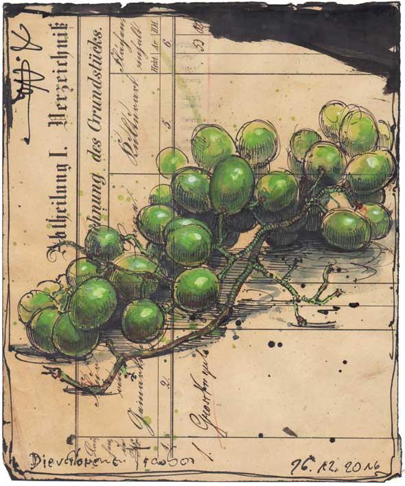 Die verlorenen Trauben