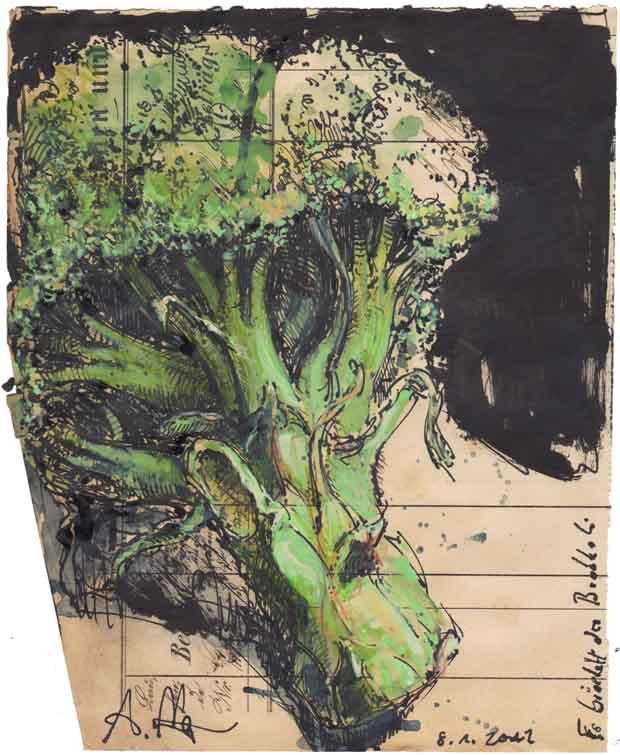 Es bröckelt der Brokkoli