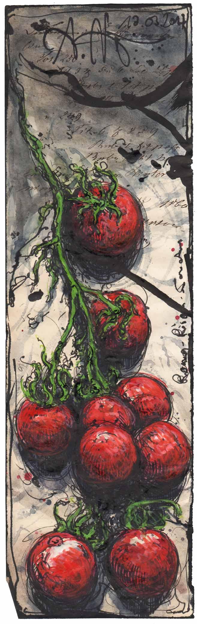 Roma Rispen Tomaten