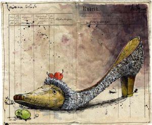 Igelinnen Schuh
