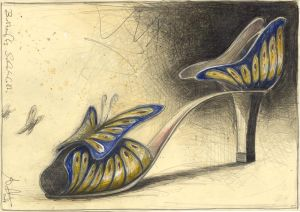 Butterfly Schuhlette