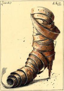 Gürtel-Stiefel
