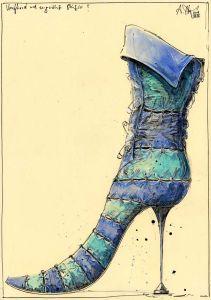 Verflixed und zugenähte Stiefelei