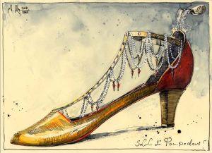 Schuh der Pompadour