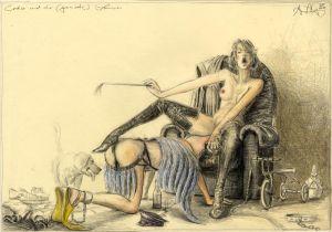 Leda und der (gemimte) Schwan