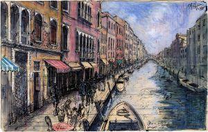 Meine zufällige Begegnung mit Heinrich und Thomas Mann in Venedig