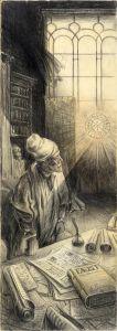 Faust - nach einer Vision von van Rijn