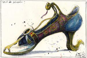 Schuh der Kleopatra