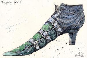 Der Gothic Schuh