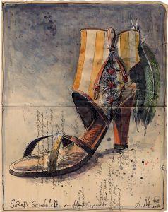 Schaft Sandalette einer Häuptlingstochter