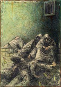 Klosterkeller (n. Goyas Capricho No. 34 - Las rinde el Sue´no)