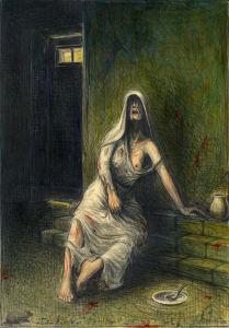 Der Kerker (nach Goyas Capricho No. 32)