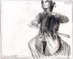 Großes Cello