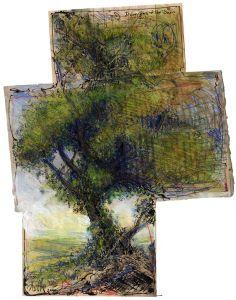 Dreigeteilter Baum