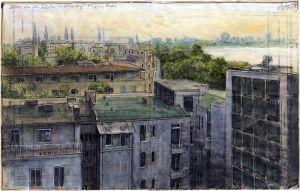 Über den Dächern von Hamburg - St. Georg Hotel