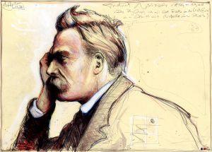 Die Philosophie ist eine Art Rache an der Wirklichkeit - mein Abend mit Nietzsche in Rot