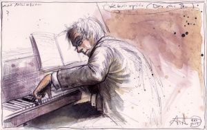 Klavierspieler (Der eine Ton)