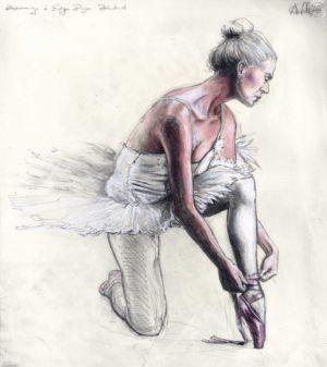 Hommage á Edgar Degas: Bindend