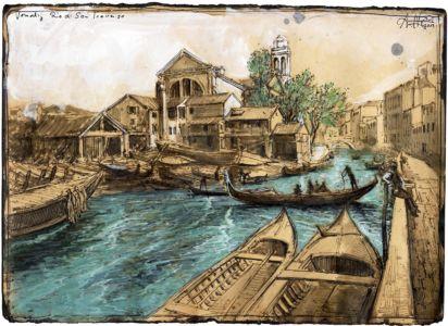 """""""Venedig - Rio di San Trovaso"""""""