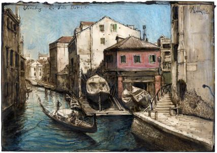 Venedig - Rio della Botisella