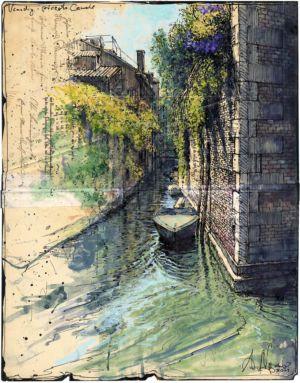 Venedig - piccolo Canale
