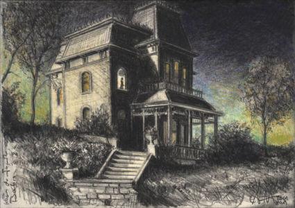Das Haus der Familie Bates