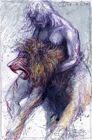 Herakles und der nemeische Löwe